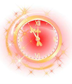 Happy New Year New Year Clock, Happy New Year Fireworks, Happy Evening, Clip Art, Joy, Christmas, Design, Home Decor, Holidays