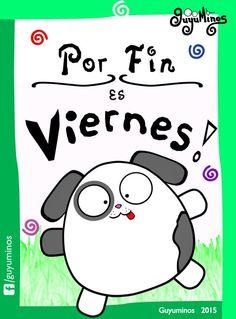 Por fin es Viernes! #guyuminos #viernes #kawaii