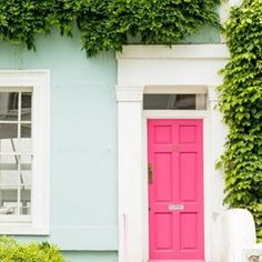 Dreaming of pink doors and Ivy covered cottages today! If Christmas is over ... can it be Spring already?!?  photo from @thefoxandshe  #pink #pinkdoor #springfever #ihavethisthingwithpink #prettyplease