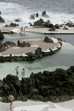 Madeira, Portugal Porto Moniz Natural Swimming Pool ©Mademoiselle Le K Visit Portugal, Spain And Portugal, Portugal Travel, Portugal Trip, Cabo, Places To Travel, Places To See, Las Azores, Travel Around The World