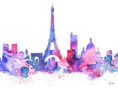 Paris print by Luke and Slavi