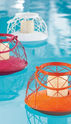 The topic at your next pool party? Our amazing Floating Lantern.