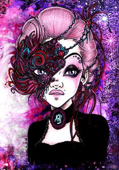 .Maskerade. by mirjaT on deviantART