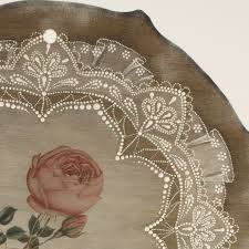 Автор - Эля Бакиева - Поиск в Google Lace Painting, Mandala Painting, Dot Painting, Painting Patterns, Painting On Wood, Painting & Drawing, Folk Art Flowers, Flower Art, Hena