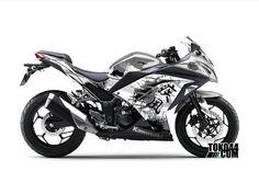 Decal Sticker Ninja 250 FI Grey – Stiker Modifikasi Kawasaki Ninja 250 FI (Fuel Injection)Reviewed by Admin on Jun 28.Rating: