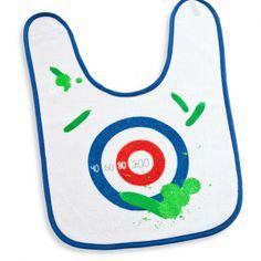 Zucchini Dart - Lätzchen - Kind Kinder Baby Babies Darts, Donkey, Baby Bibs, Zucchini, Gadgets, Kids Rugs, Toys, Kid Stuff, Gift Ideas