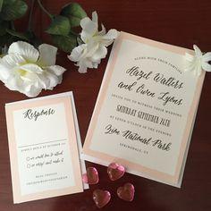 Wedding Invitation Suite by: Basic Invite