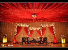 YES. bengali wedding stage