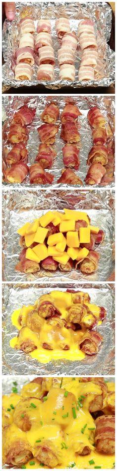 Cheesy Bacon Tator Tots