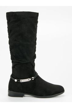 Čierne čižmy pod kolená SDS Riding Boots, Biker, Platform, Shoes, Fashion, Horse Riding Boots, Moda, Zapatos, Shoes Outlet
