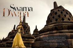 """Swarna Dwipa""  Models: Yulia Jamil & Tanya, Photographer: Nicoline Patricia Malina, Harper's Bazaar Indonesia, May 2010"