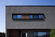 Facade, New Homes, House Design, Landscape, Image, Home Decor, Detail, Black, Minimalist Home