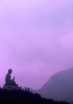 seated Buddha on Lantau Island, Hong Kong