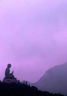 seated Buddha on Lantau Island, Hong Kong