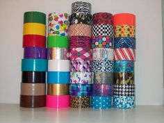 duct tape creations on pinterest duct tape duct tape wallets and duck tape. Black Bedroom Furniture Sets. Home Design Ideas