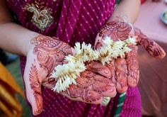 Mehendi for a wedding in India | WithTheGrains.com