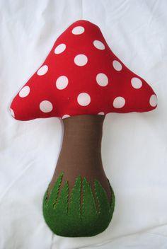 Mushroom/Toadstool Pillow