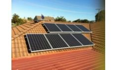 This 2kW residential solar power system will generate about 8.4 kWh/day.It should fit comfortably on any 2 bedroom home or unit.