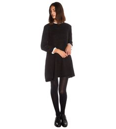 Cabbages & Roses Black Knitted Tunic