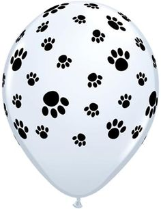 Paw Print Latex Balloons! Cute for a party theme with a dog or cat theme.