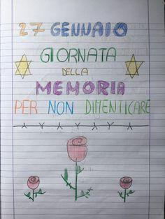 """27 Gennaio """"Giornata della memoria """" Per non dimenticare… Bullet Journal, Coding, School, Blog, Forget, Halloween, Winter Time, Street Art, Fotografia"""