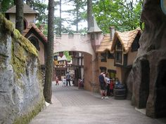 Enchanted Forest - the most amazingly unique (and the creepiest) theme park I've ever seen.