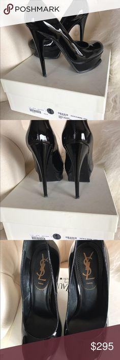 YSL Tribute Pumps Black Patent Size 36 Saint Laurent Black Patent Tribute Pumps Excellent condition/rarely worn Size 36 Saint Laurent Shoes Heels
