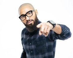 Bald and Bearded? That's classy! That's perfection! When you compliment the look with a Stylish Black Frame Nerdy Glasses, that's a passport to Awesomeness! There is something about being bald and bearded that just exudes power and masculinity. Do you agree?