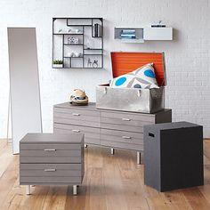 concrete nightstand in bedroom furniture cb2 bedroom furniture cb2