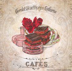 """Fotos vintage """"Cupcakes"""". Discussão sobre LiveInternet - Russo serviço de diários on-line"""