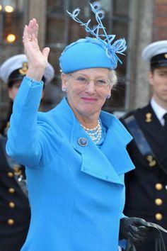 HM Queen Margrethe II of Denmark.