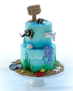 Scuba diving cake More