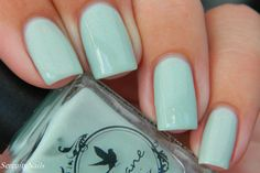Come Back Around  Two Tone  Arcane Lacquer  Nail by ArcaneLacquer