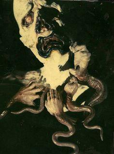 The Cave of the Morbid Very Scary, Creepy Art, Macabre Art, Creepy Clown, Metal Artwork, Horror Art, Looks Cool, Dark Fantasy, Aesthetic Art