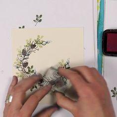 Stamped Christmas Cards, Homemade Christmas Cards, Christmas Cards To Make, Xmas Cards, Homemade Cards, Holiday Cards, Beautiful Christmas Cards, Handmade Stamps, Handmade Books