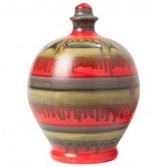 Red. Black & Gold Slicks Money Pot