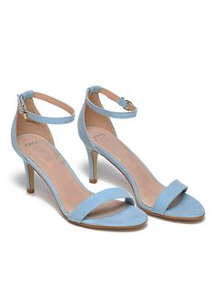Sandale Top Secret Blue - Top Secret - www. Top Secret, Blue Shoes, Troll, Kitten Heels, Perfume, Womens Fashion, Casual, Collection, Easter