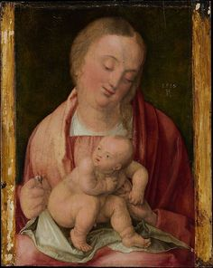 ALBERTO DURERO LA VIRGEN CON EL NIÑO 1516.