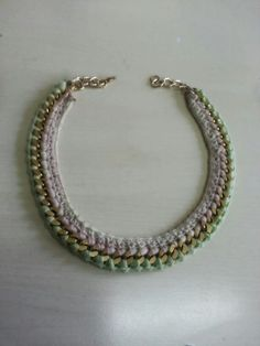 Crochet neckless