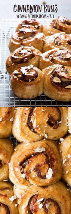 Vegan and sugarfree cinnamonrolls are easy, delicious and a perfect treat