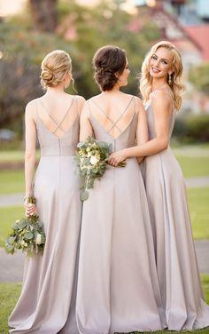 Sorella Vita Bridesmaid Dresses Are The New Classic - Pretty Happy Love - Wedding Blog | Essense Designs Wedding Dresses