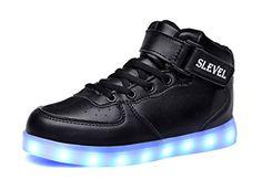 SLEVEL LED Light Up Shoes USB Flashing Sneakers for Kids ... https://www.amazon.com/dp/B01MEFHR1N/ref=cm_sw_r_pi_dp_x_B6QwybJE2R3J8