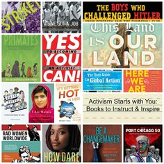 It's been a wild and sometimes scary ride lately with the political climate changing in the wake of the United States Presidential election last November… Book Of Changes, Books For Tweens, About Climate Change, Nobel Peace Prize, Change Maker, Civil Rights Movement, Readers Workshop, Beyond Words, What To Read