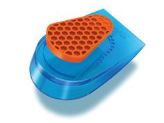 SPENCO® GEL HEEL CUPS provide dual-density TPR GEL Cushioning.