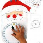 Christmas Advent Calendar – Santa // Calendario de Adviento de Papá Noel