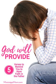 It's hard to have faith when we wonder if there will be enough but God promises to provide. These 5 verses can help you have faith when you fear there won't be enough. Christian Women, Christian Living, Christian Faith, Christian Quotes, Have Faith, Faith In God, Bible Verses For Women, Spiritual Disciplines, Spiritual Practices