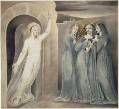 William Blake - The Three Maries at the Sepulchre