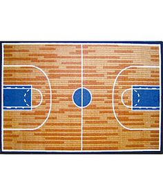 @Overstock - If you have a sports themed room, then you'll like this basketball court rugYou'll be ready for the tip-off with this unique rug Rug is perfect for bedrooms, playrooms or any other room in your homehttp://www.overstock.com/Home-Garden/Basketball-Court-Rug-33-x-411/2532102/product.html?CID=214117 $45.99