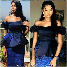 Latest African Fashion Dresses, African Design, African Wear, African Beauty, Ankara Styles, Dress Patterns, Peplum Dress, Wax, Glamour