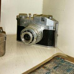Old camera bencini Comet s